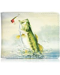 Buxton - Wildlife Thinfold Wallet Bass Wl803lb - Lyst