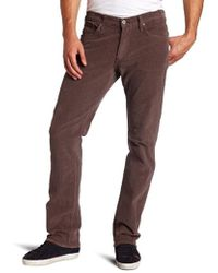James Jeans Travis Straight Leg Corduroy - Multicolor