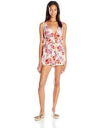 MINKPINK - Holiday Fling Playsuit Romper Cover Up - Lyst