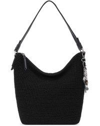 The Sak Sequoia Crochet Hobo - Black