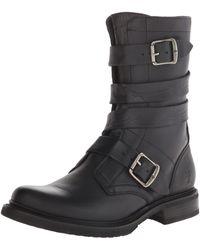 Frye Veronica Tanker-wshovn Engineer Boot - Black