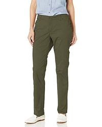 Lee Jeans Midrise Fit Essential Chino Pant - Green