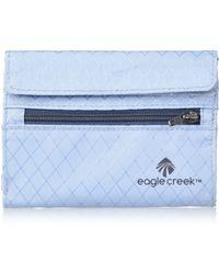 Eagle Creek Rfid International Tri-fold Wallet - Blue