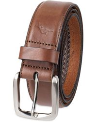 Tommy Bahama Casual Leather Belt - Brown