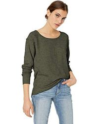7b72ef0fc17 French Connection Babysoft Long Sleeve Soft Solid Pullover Sweater in Blue  - Lyst
