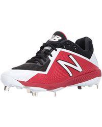 a0bd5c169aff Lyst - New Balance L4040v3 Cleat Baseball Shoe in Blue for Men ...