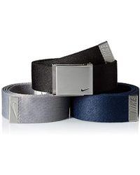 Nike - 3 Pack Web Belt - Lyst