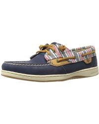 Sperry Top-Sider - Ivyfish Stripe Navy Boat Shoe - Lyst