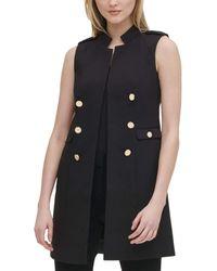 Calvin Klein Ck Button Vest - Black
