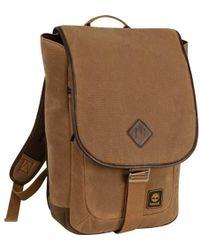 Timberland Messenger Backpack Briefcase Travel Bag - Brown