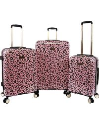 Juicy Couture Jane 3-piece Hardside Spinner Luggage Set - Multicolor