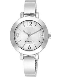 Nine West - Sunray Dial Bangle Watch - Lyst