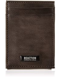 Kenneth Cole Reaction Rfid Front Pocket Wallet - Gray