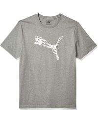 PUMA - Graphic Tee Shirt - Lyst