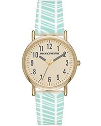Skechers - Quartz Metal And Silicone Casual Watchmulti Color (model: Sr6149) - Lyst