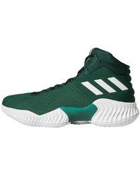 adidas Pro Bounce 2018 Basketball Shoe - Green