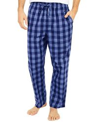 Nautica Soft Woven Pajama Pant Pyjamahose - Blau