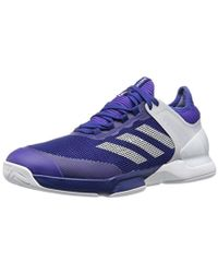 99d63df317a6c Lyst - adidas Adizero Ubersonic 3 Pw Tennis Shoe  blue gold in Red ...