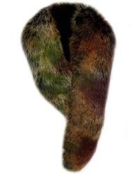 Laundry by Shelli Segal Faux Fur Scarf - Green