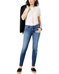 Hudson Jeans Tall Size Collin Midrise Skinny Supermodel Jean - Blue