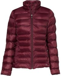 CARE OF by PUMA Chaqueta acolchada impermeable para mujer - Rojo