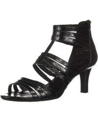 Aerosoles A2 By Pastel Heeled Sandal - Black