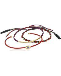 Tai Red Evil Eye 3 Piece Bracelet Jewelry Set