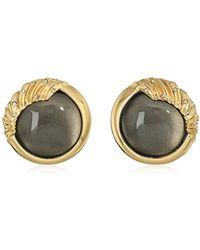 Alexis Bittar - Crystal Studded Sculptural Sphere Button Clip-on Earrings - Lyst