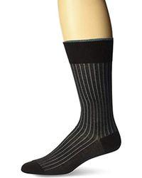 Bruno Magli - Verti Stripe Socks - Lyst
