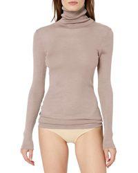 HANRO Womens Seraphina Turtleneck Shirt 79566
