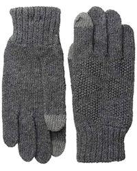 Ben Sherman - Textured Knit Glove - Lyst