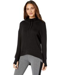 Marc New York - Plus Size Peaceful Yoga Hi-lo Hooded Tunic - Lyst