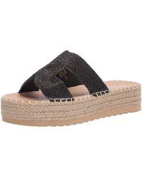 Matisse Platform Sandal Wedge - Black