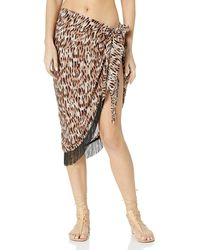 Vince Camuto Pareo Cover Up - Black