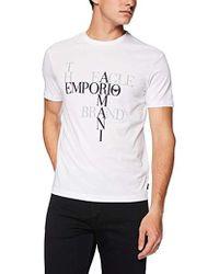 Emporio Armani - Fashion Logo Tees - Lyst