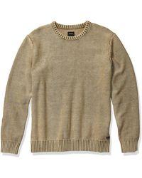 RVCA Cal Stone Crew Neck Sweater - Green
