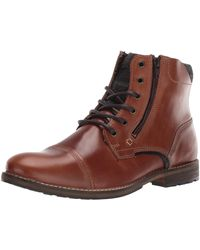 Steve Madden Bayun Combat Boot - Brown