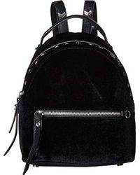 Sam Edelman - Sammi Studded Velvet Mini Backpack (black) Backpack Bags - Lyst