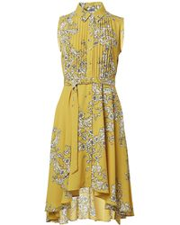 Nanette Lepore Nanette By Nanette Lepore Shirtdress - Yellow