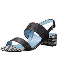 Studio Pollini - Patterned Heel Dress Sandal - Lyst
