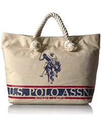 U.S. POLO ASSN. - Us Polo Association New Hampshire Iii Rope Tote - Lyst