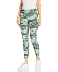 Juicy Couture High Waisted Side Stripe 7/8 Legging - Green