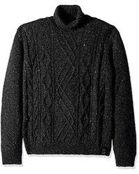 Armani Exchange | Speckeled X Sweter - Black