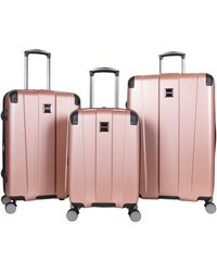 Kenneth Cole Reaction 24-in Continuum Collection Hard-side Expandable Luggage - Pink