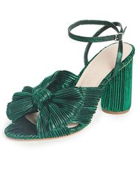 Loeffler Randall Womens Camellia Pump - Green