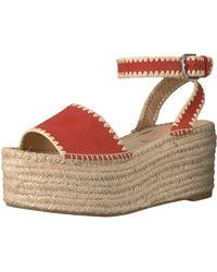 Pour La Victoire Ria Espadrille Wedge Sandal - Multicolor