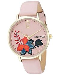 Nine West Strap Watch - Pink