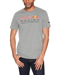 PUMA - Red Bull Racing Logo T-shirt - Lyst