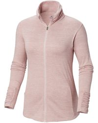 Columbia Outerspaced Iii Full Zip - Pink