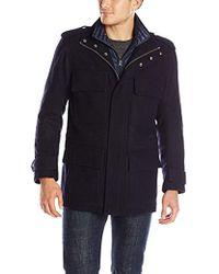 Marc New York - Libert Wool Four-pocket Coat - Lyst